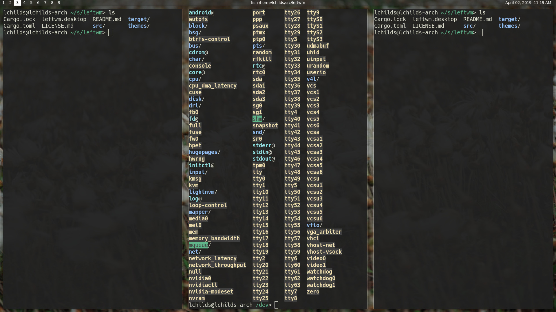 LeftWM - A tiling window manager for Adventurers